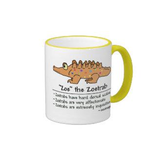 Zoe, the Zoetrab Ringer Coffee Mug