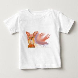 Zoe Yellow Abstract Baby T-Shirt