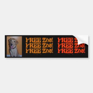 Zoe's Bumper Sticker