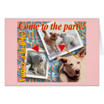 ZoeSPEAK - Come to the party! Greeting Card