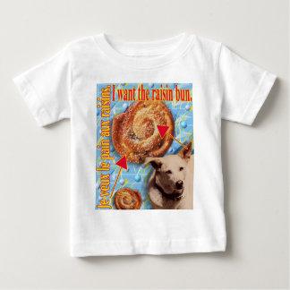 ZoeSPEAK - I want the raisin bun. Baby T-Shirt