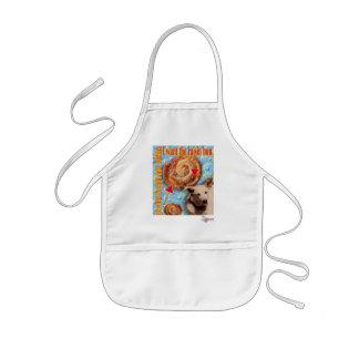 ZoeSPEAK - I want the raisin bun. Kids' Apron