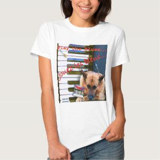 ZoeSPEAK - Piano Blues T-Shirt