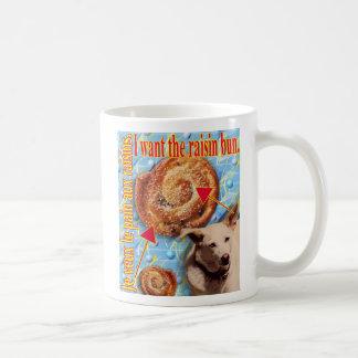 ZoeSPEAK - quiero el bollo de la pasa Tazas De Café