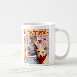 ZoeSPEAK - some friends at the beach... Coffee Mug