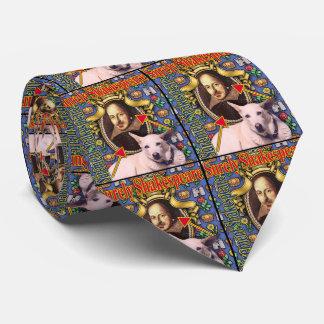 ZoeSPEAK - Surely Shakespeare Neck Tie