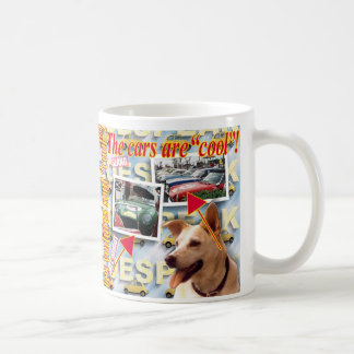 """ZoeSPEAK - The cars are """"cool""""! Coffee Mugs"""