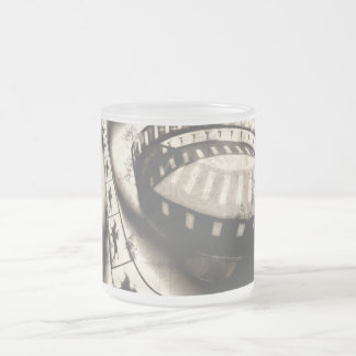 Zoetropus Frosted Glass Coffee Mug
