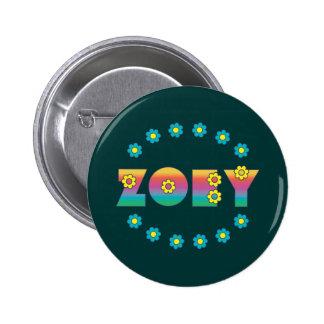Zoey Flores Rainbow Pin