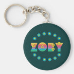 Zoey Flores Rainbow Key Chains
