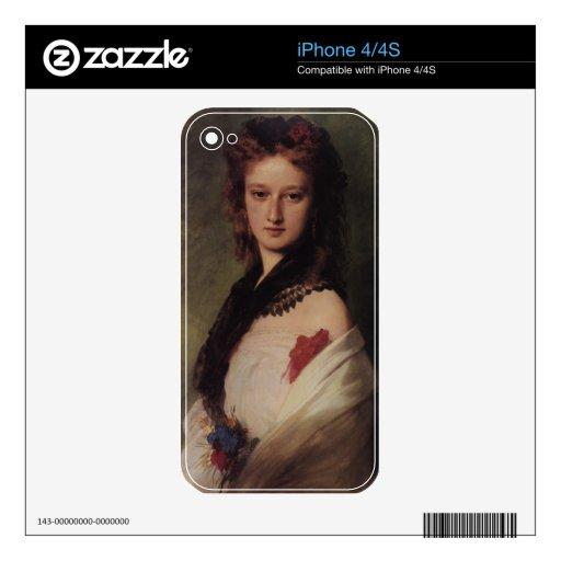 Zofia Potocka Countess Zamoyska iPhone 4 Decals