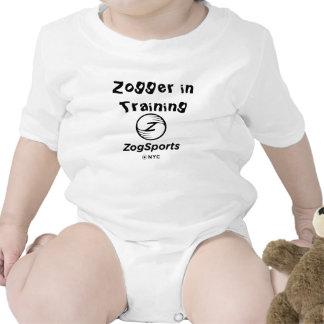 Zogger en una pieza del niño del entrenamiento traje de bebé