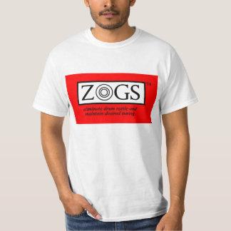 ZOGS budget t-shirt