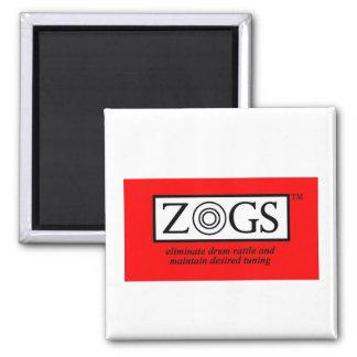 ZOGS logo magnet