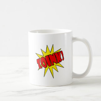 Zoink!  Cartoon SFX Coffee Mug