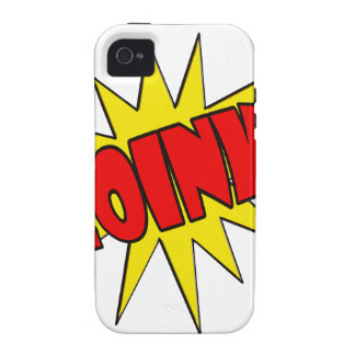 Zoink!  Cartoon SFX iPhone 4 Cover