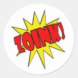 Zoink!  Cartoon SFX Stickers