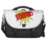 ¡Zoink!  Dibujo animado SFX Bolsas De Portátil
