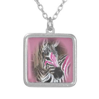 Zola sporting pink stripes v1 necklace