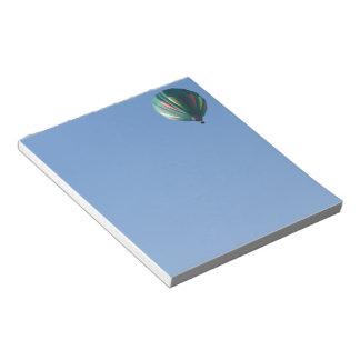 Zollie Hot Air Balloon Notepad