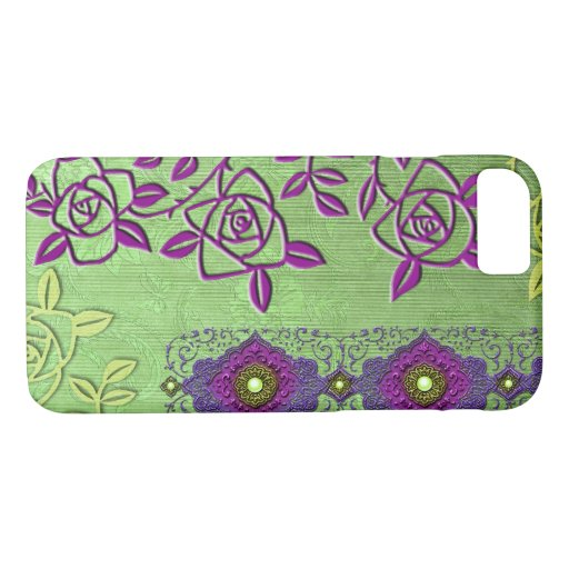 ZOLLIE'S ROSES: LILAC SPRING iPhone 8/7 CASE