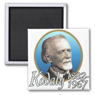 Zoltan Kodaly Fridge Magnet