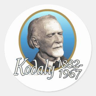 Zoltan Kodaly Stickers