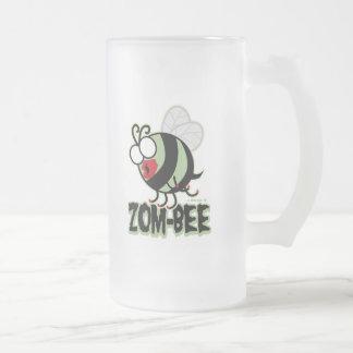 Zom-Abeja Taza Cristal Mate
