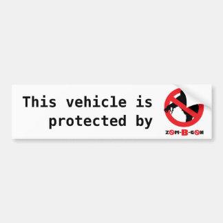Zom-B-Gobierno de Nigeria Pegatina Para Auto