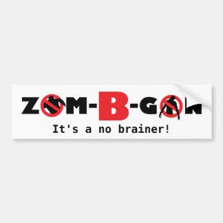 Zom-B-Gobierno de Nigeria, pegatina para el parach Pegatina Para Auto