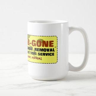 Zom-B-Gone Urban Zombie Removal Coffee Mugs