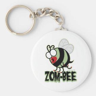 Zom-Bee Keychain