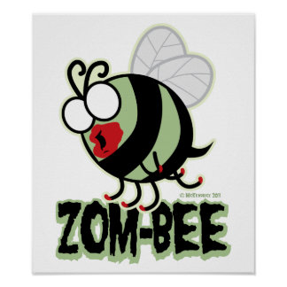Zom-Bee Print