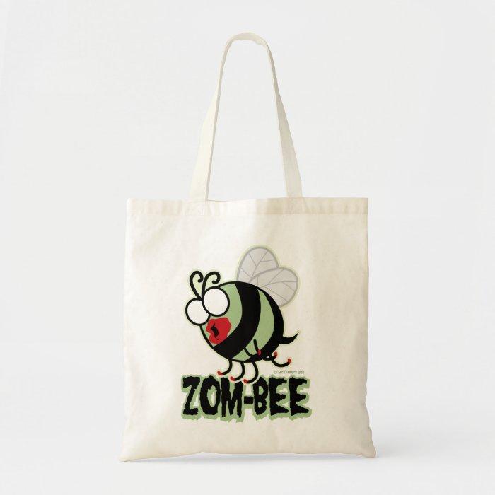 Zom-Bee Tote Bag