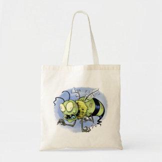 Zom-bee ( Zombie Bee ) Budget Tote Bag