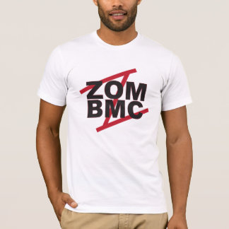 ZOM BMC Black letters on Red Z T-Shirt