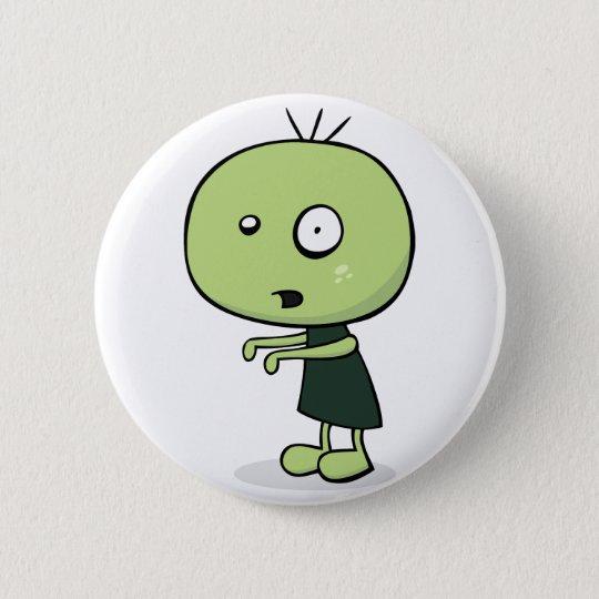 Zom Boy Pinback Button
