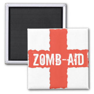 Zomb-AID 2 Inch Square Magnet