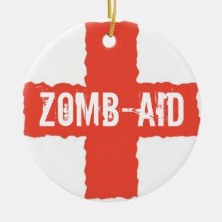 Zomb-AID Christmas Ornament