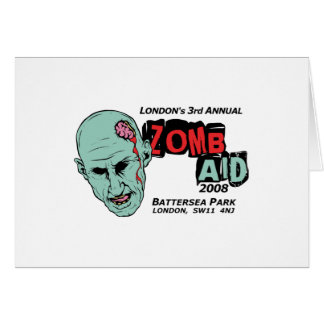 Zomb Aid Zombies Card