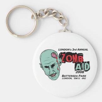 Zomb Aid Zombies Basic Round Button Keychain