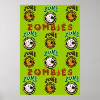 zOmB EyE Ball Print