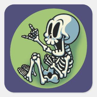 Zombaby Square Sticker