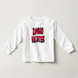 Zombaid Volunteer Red Toddler T-shirt