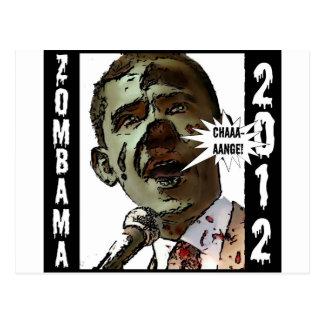 zombama2012 postcard