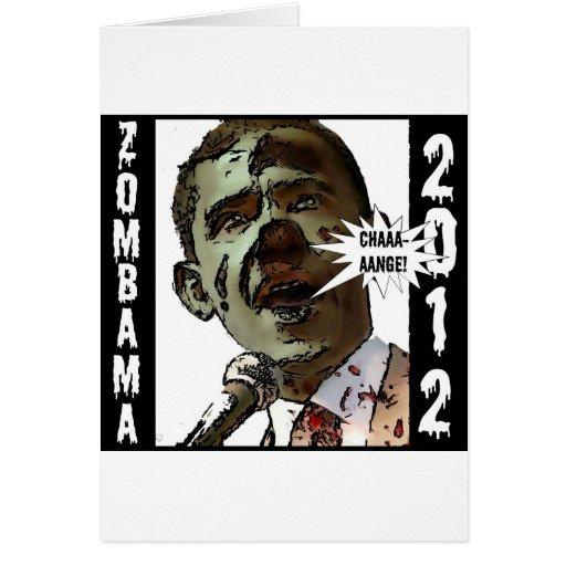 zombama2012 tarjeta de felicitación