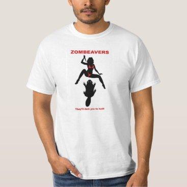 ZOMBEAVERS ZOMBEAVERS t-shirt