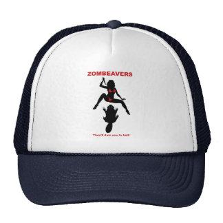 ZOMBEAVERS trucker hat