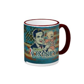 Zombey Romney para presidente Mug Taza
