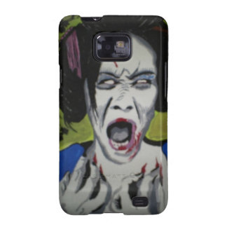 'ZombGeisha'  Samsung Galaxy S (T-Mobile Vibrant) Samsung Galaxy S2 Cover